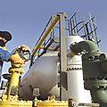 Fourniture de gaz algérien