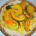 Couscous tchicha de l'aïd