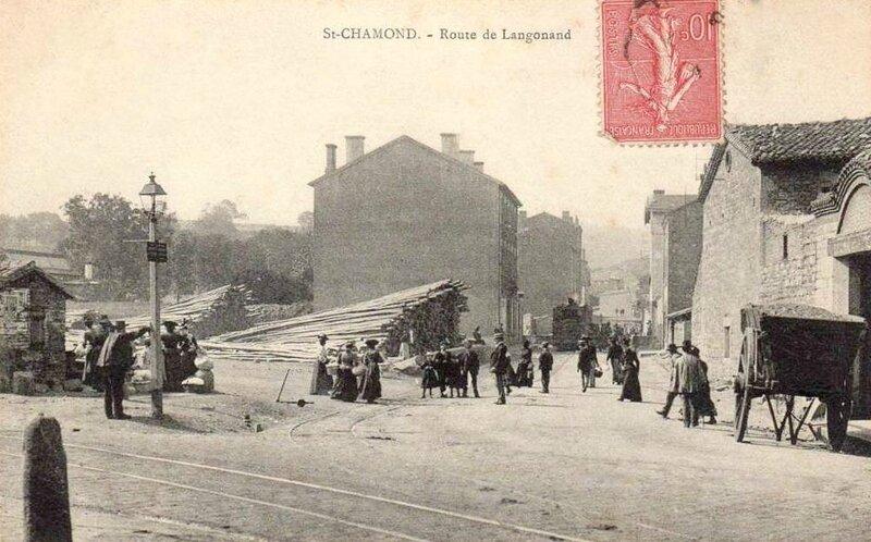 route de Langonand cpa (3)