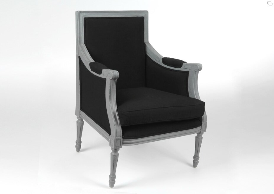 Mobilier moderne baroque fauteuil proust accueil design for Mobilier moderne