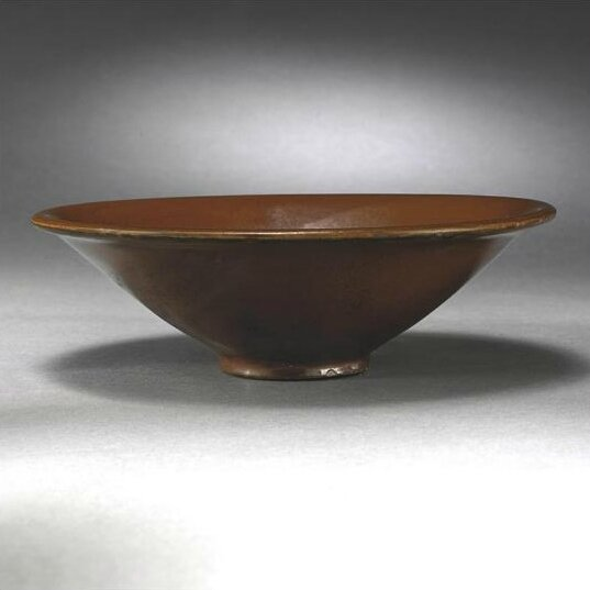 A persimmon-glazed 'Yaozhou' bowl, Song Dynasty