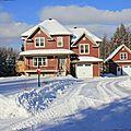 2013-01-07 La maison et les environs dans leur manteau d'hiver