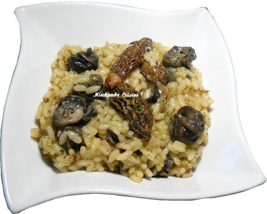 Risotto aux Escargots et aux Morilles, Tradition Provençale du Gros Souper