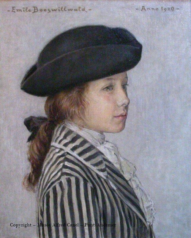 boeswilwald fille de l'artiste en travesti