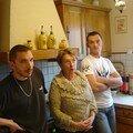 Maman et deux de ses fils