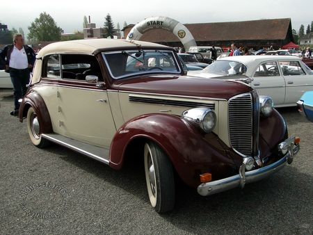 dodge d8 convertible, 1938, osmt zug 2013 3