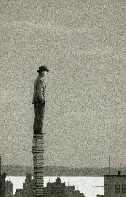 Quint Buchholz, The Library, 1996