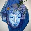 masque en papier et tissu