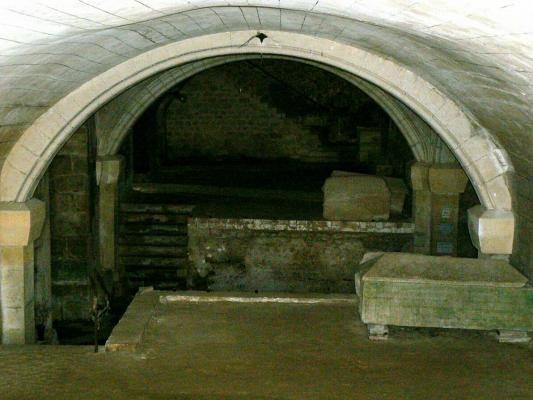 Eglise Sainte Quitterie du Mas d'Aire, la Crypte