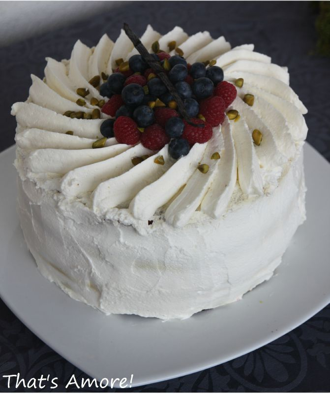 decoration gateau a la creme chantilly