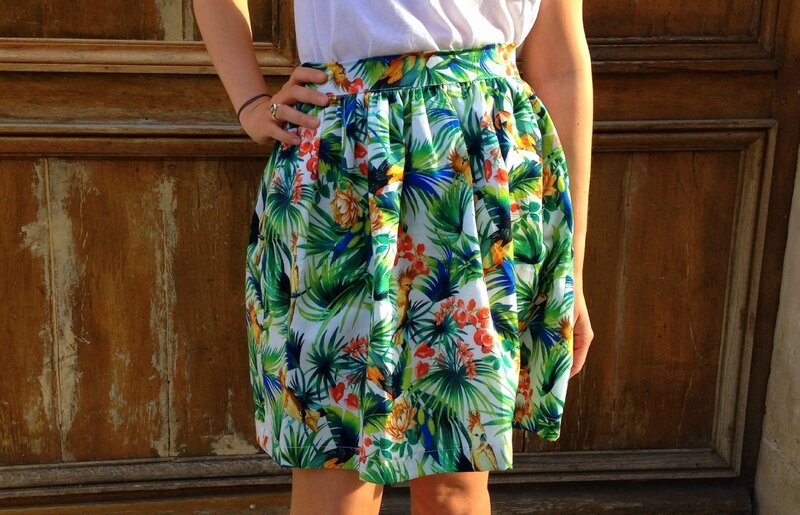 Tropical Skirt (2)