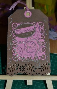 carte anniv pour La rose qui scrap