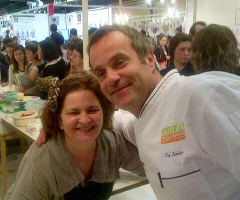 nina Couto Chef Damien salon sugar paris