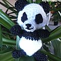 panda crochet
