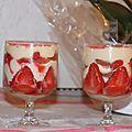 Tiramisu aux fraises (recette de christophe felder ; pas à pas illustré)
