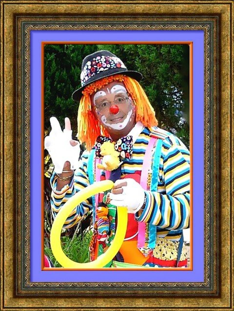 FotoSketcher - hollande clown