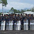 Flash: kinshasa quadrillé par les forces de sécurité