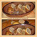 Cuisses de poulet à la sicilienne (cuisson cocotte minute )