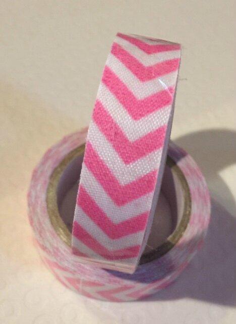 Masking Tape Coton - rose