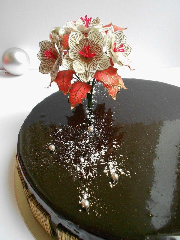 Entremets chocolat et framboise (4)