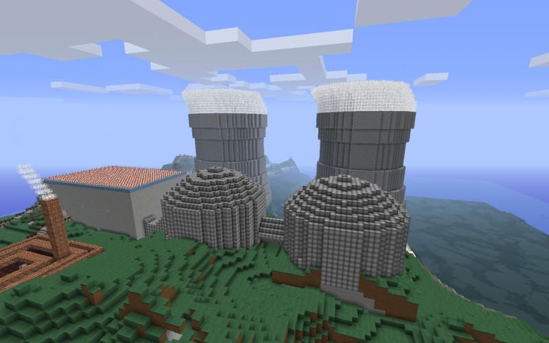 Voici les plus belle construction de minecraft le blog des jeux video des m - Belle construction minecraft tuto ...