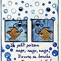 n° 398 et 399, le petit poisson nage, nage, ok (465x640)