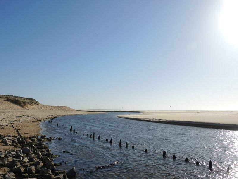 Moliet-et-Maa, plage, courant d'Huchet