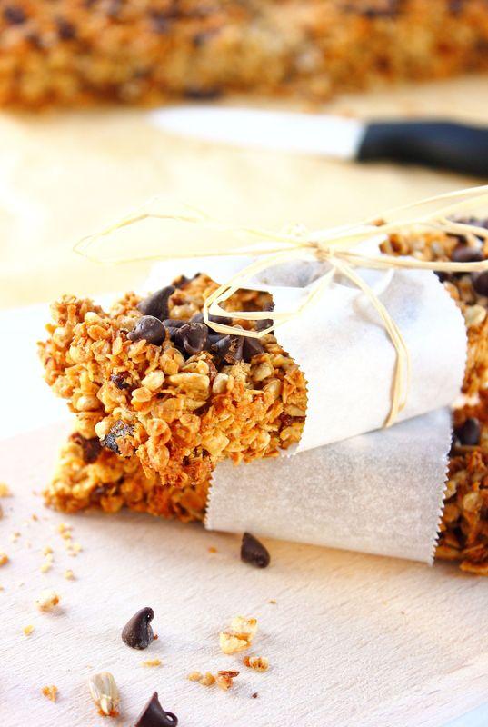 Barres musli & pépites de chocolat2