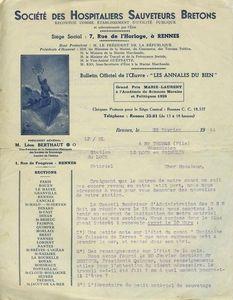 Ch20 - Courrier des HSB à Jean-Marie Thomas - Demande d'inventaire 1