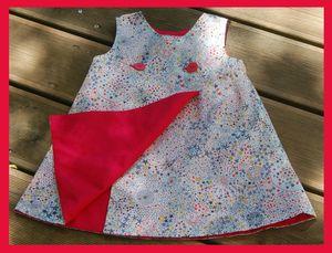 robe louise Adeladja détail