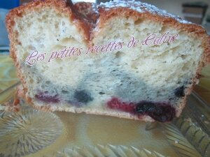 Cake léger aux fruits rouges31