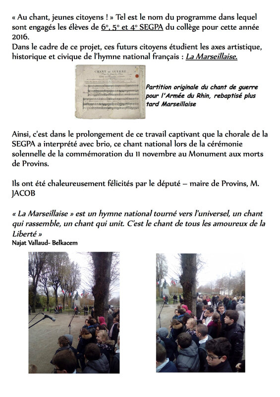 resume commemoration du 11 novem bre 2016 6 - 5 - 4 segpa pdf