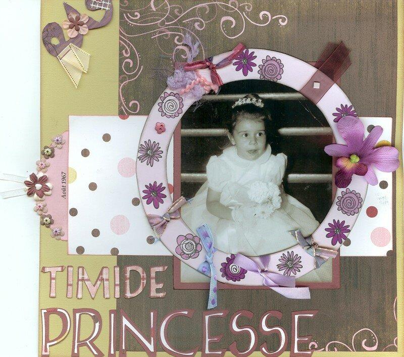 Timide princesse