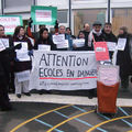 Occupation Groupe scolaire st Exupéry 16/12/08 1