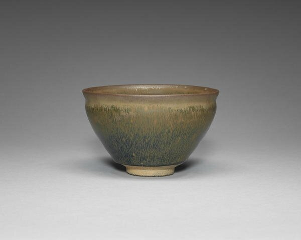 A large Jian 'hare's fur' tea bowl, Song Dynasty