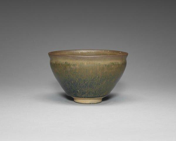 A large Jian 'hare's fur' tea bowl, Song Dynasty