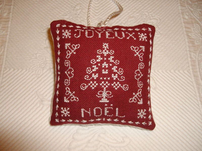 coussinet Joyeux Noël 1