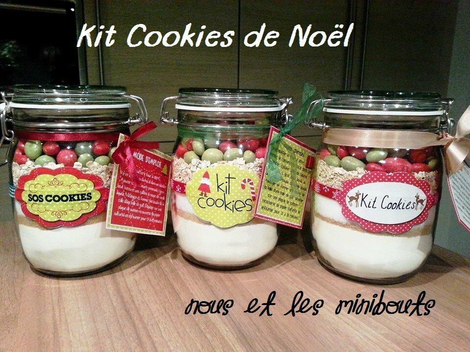 Häufig Cadeaux de fin d'année DIY - le SOS Cookies de Noël - Nous et les  HA39