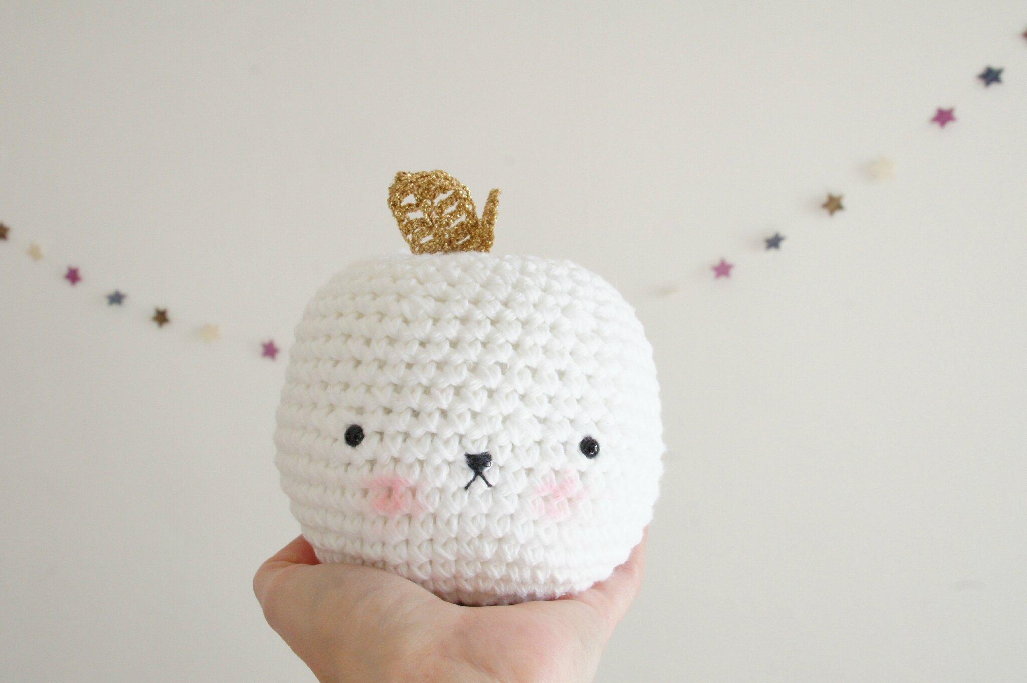 Amigurumi Tuto : Tuto golden apple tournicote à cloche pied