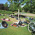 La parenthèse yoga vous propose une séance de yoga gratuite au parc du heyritz à strasbourg ce dimanche 28 août