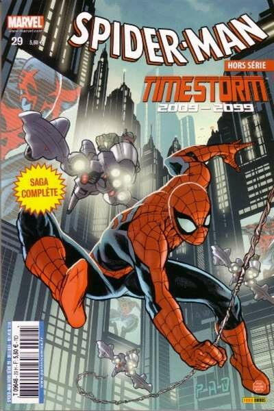 spiderman hs 29 time storm