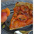 La cuisine des vacances # 1 : la tarte aux abricots et aux pistaches