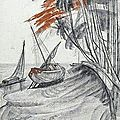  Andr Maire (1898 - 1984), La barque choue