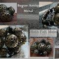 Bague Antique Métal