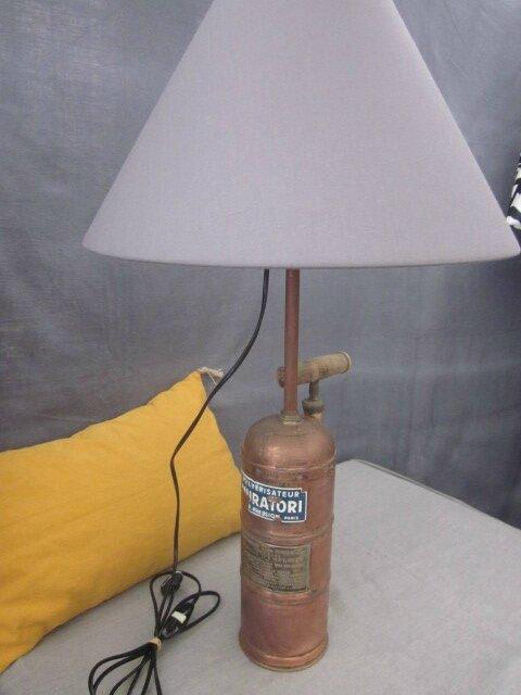 La Fée Marraine : Créateur de luminaires.... Lampe-Pulvérisateur Muratori