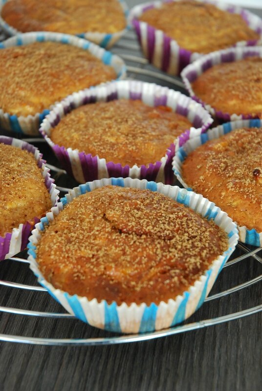 muffins pomme cannelle miel