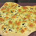 Pizza ail mozza