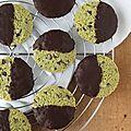 Mes cookies d'après 20h00 (menthe et chocolat noir)