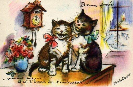 bonne année 4 Germaine Bouret