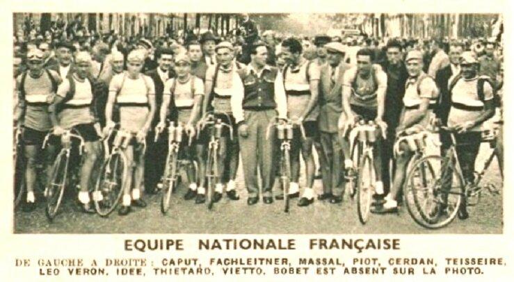 Equipe de France Tour 1947
